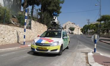 Google Car in Kiryat Arba
