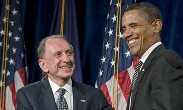 Arlen Specter, Barack Obama