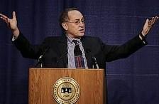 Dershowitz critiques Goldstone report
