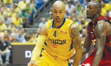 Maccabi Tel Aviv's David Logan