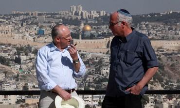Uri Ariel, Arie Eldad in Jerusalem