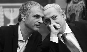 PM Netanyahu and Moshe Kahlon