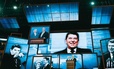 Ronald Reagan on screens