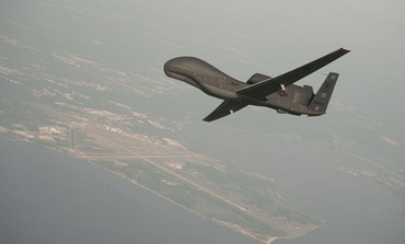 US Navy RQ-4 Global Hawk drone [file photo]