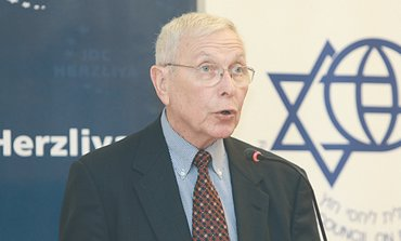 Former ambassador to the US Moshe Arad.