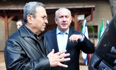 Barak Netanyahu at Syrian border.