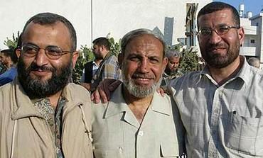 Hamas's Military Chief Ahmed Jabari [Right]