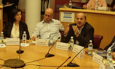 Ahmed Tibi at Israel Institute of Democracy forum