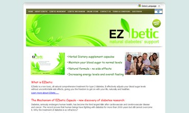 EZbetic website