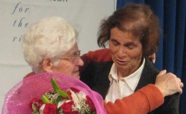 Shoshana Golan reunites with her rescuer