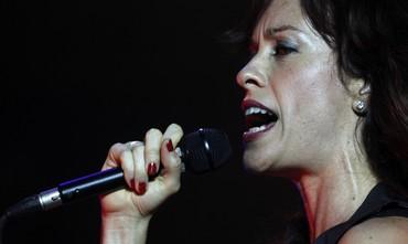 Canadian singer Alanis Morissette performs [file]