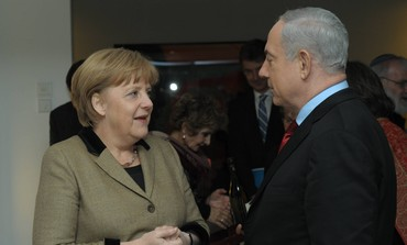 Prime Minister Netanyahu and German Chancellor Merkel
