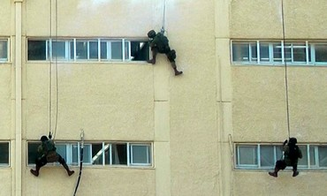 IDF counterterrorism unit training.
