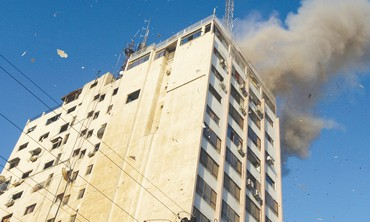 Office of Hamas's al-Aksa television channel
