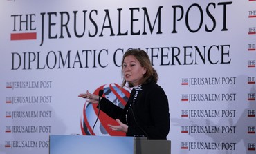 Tzipi Livni at 'The Jerusalem Post' conference