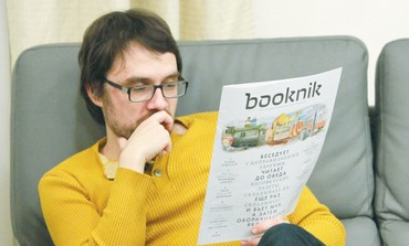 VSEVOLOD ZELCHENKO reads the Booknik magazine