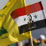 Flags of Hezbollah, Assad