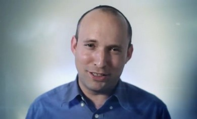 Bayit Hayehudi's Naftali Bennett.