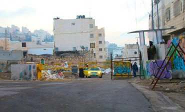 Site of Hebron shooting