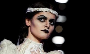 Model in Tel Aviv fashion week