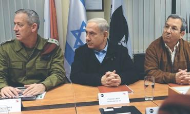 Netanyahu, Barak, Gantz
