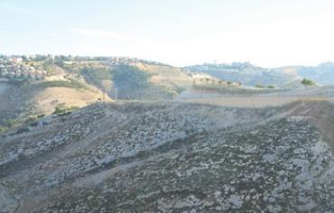 E1 area linking Jerusalem and Ma'aleh Adumim