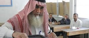 Man votes in Amman