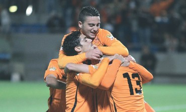 BNEI YEHUDA players celebrate