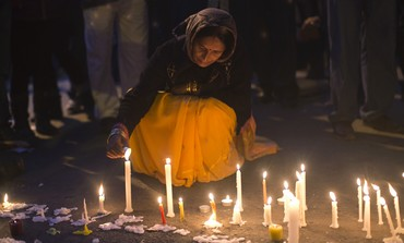 Candlelight vigil for Indian gang rape victim