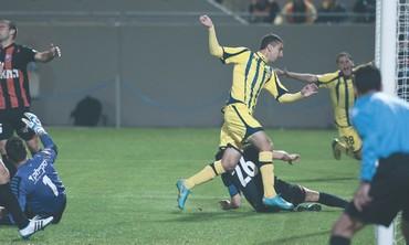 MACCABI TEL AVIV striker Munas Dabbur