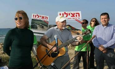 Tzipi Livni at Palmahim,