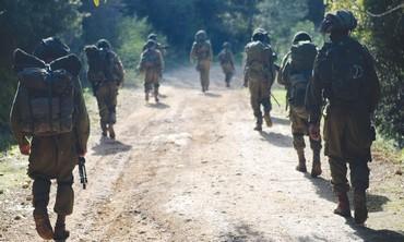 Kfir infantry drill,