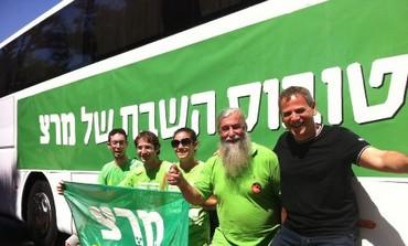 Meretz Shabbat bus
