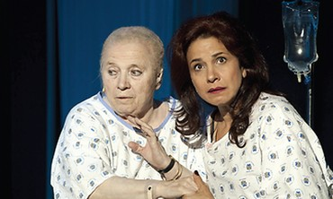 Zaharira Harifa'i and Anat Waxman in A Good Ending