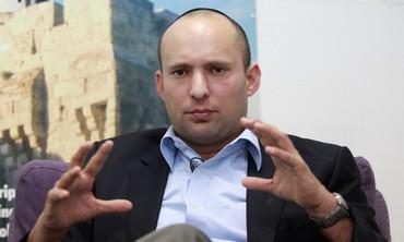 Bayit Yehudi leader Naftali Bennett
