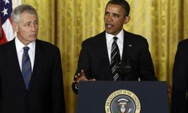 Obama nominates Chuck Hagel for defense secretary