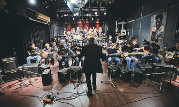 Students at the Artik School of Music