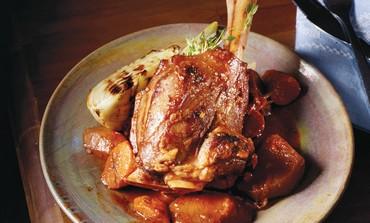 Lamb ossobuco