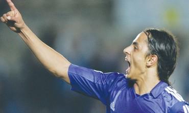 Algerian soccer player Salim Arrache