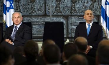 Binyamin Netanyahu and Ehud Olmert