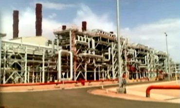 Algerian gas field