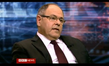 "Dani Dayan on BBC show ""Hardtalk,"" January 2013."
