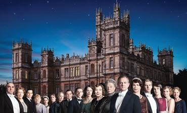 THE CAST of the hit PBS series 'Downton Abbey,' which is filmed at England's Highclere Castle.