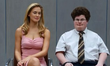 Bar Refaeli and Jesee Heiman in GoDaddy.com Super Bowl spot