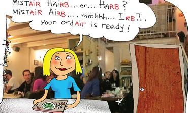 Maistar Herb Cartoon