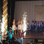 CHILDREN PERFORM at the Beit Grand Jewish Community Center in Odessa. (JDC)