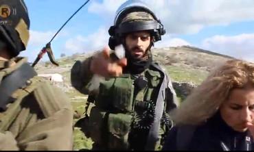 Palestinian activists, soldiers clash at  Al-Manatir