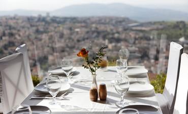 View from St. Gabriel hotel, Nazareth