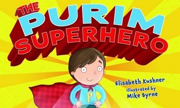 Cover art for The Purim Superhero