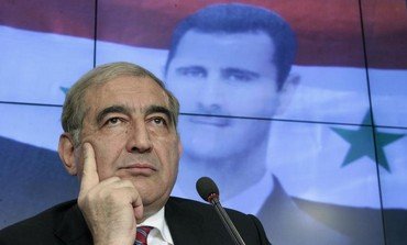 Syrian Deputy Prime Minister Qadri Jamil in Moscow, August 21, 2012.